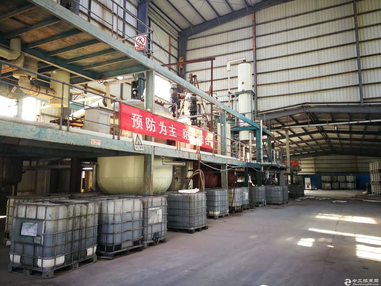 惠阳新圩独院16000平方钢构厂房现房出租