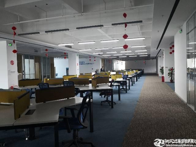 横岗永湖地铁站旁边800米精装厂房  四楼2250平招租