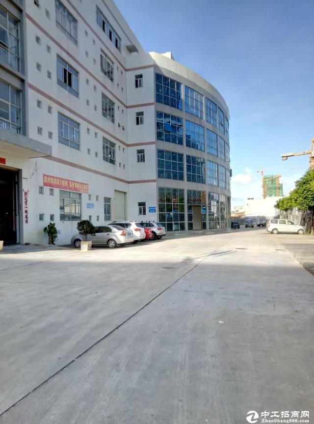 横岗惠盐路边8650平独栋厂房可售