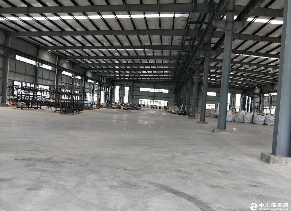 蔡甸单层3000厂房仓库出租/层高12米/价格13