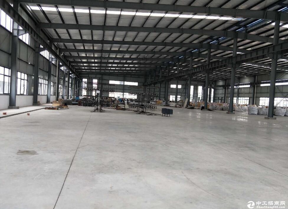 蔡甸单层2000厂房仓库出租/层高12米/价格13