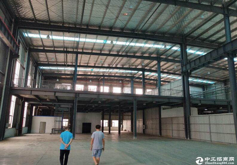 开发区汽车城旁,500~3000平米仓库出租可分