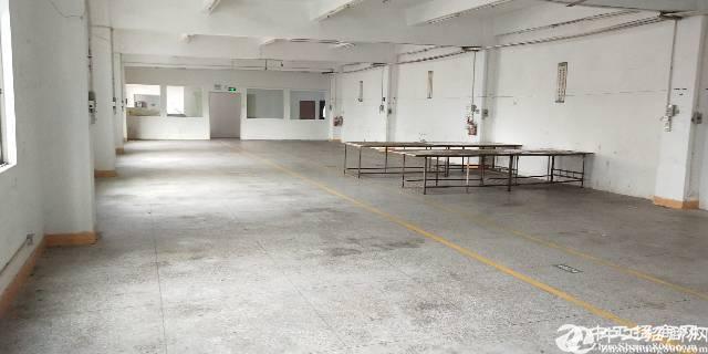 横岗四联原房东厂房一层1080平实际面积
