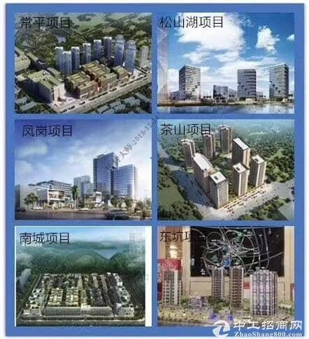 产业园出售 各有千秋 200㎡起售-2万㎡独立红本 东莞六大项目