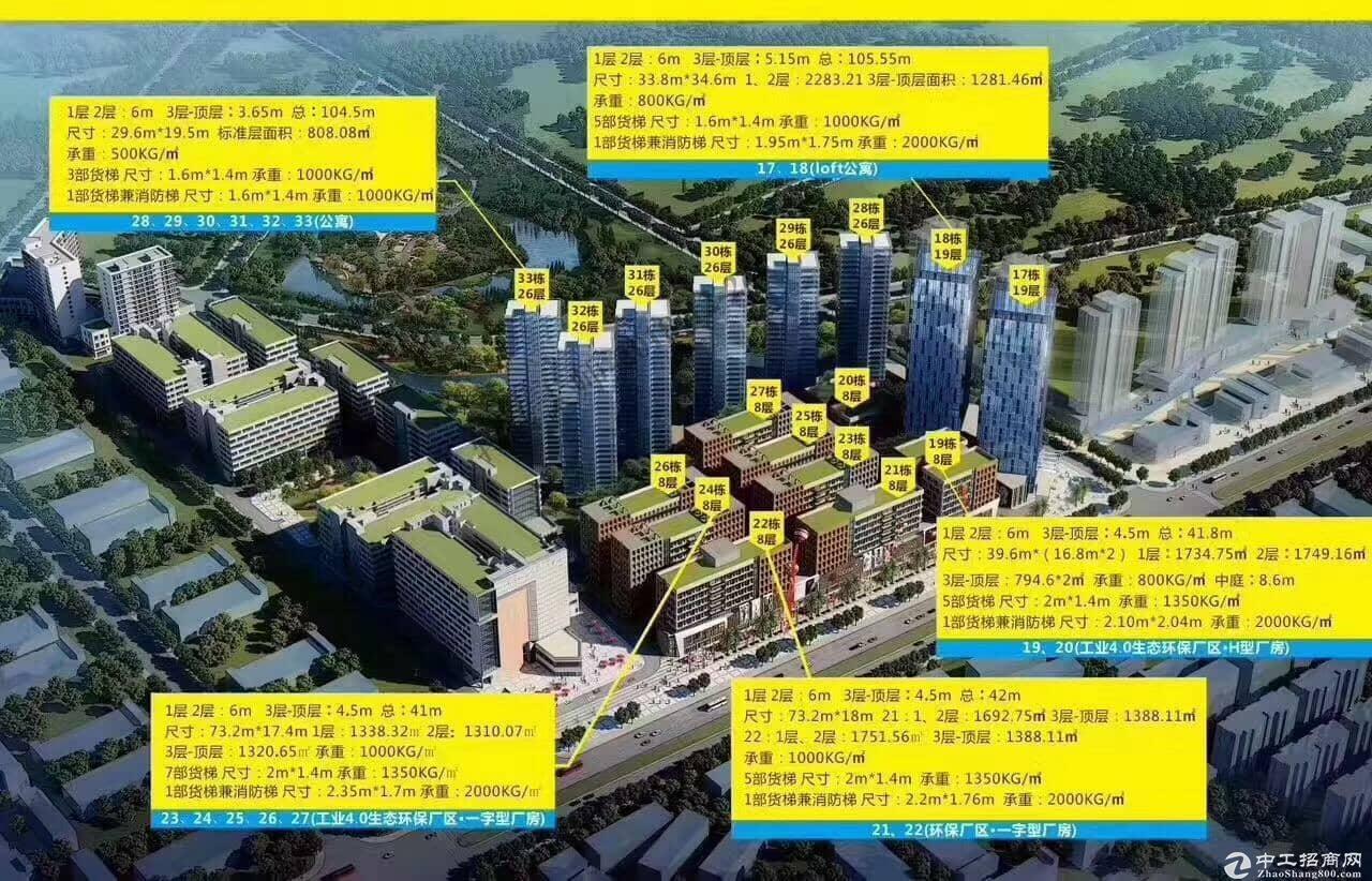 中国只有一个松山湖之高端红本厂房+办公+研发产业园可按揭出售
