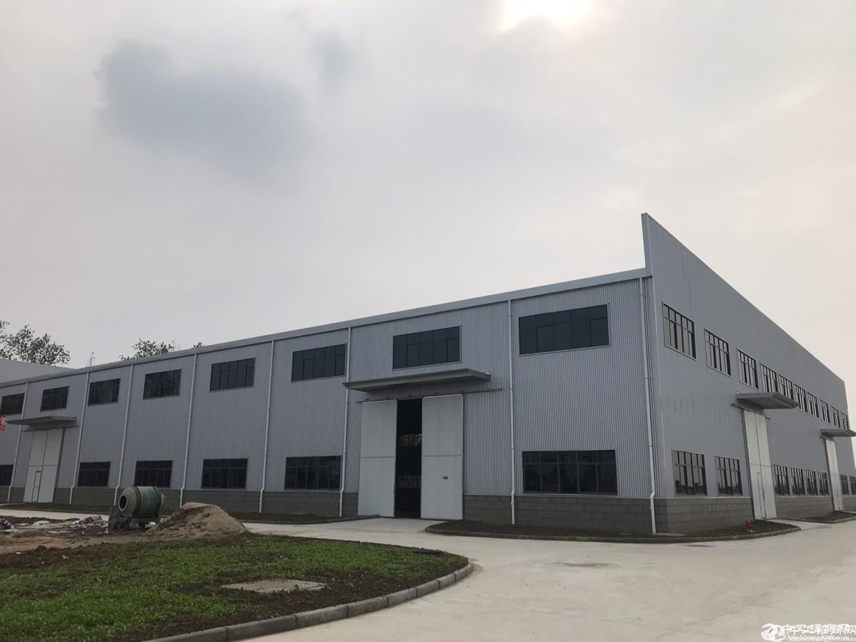 汉南湘口新建好厂房3500平米,诚意出租