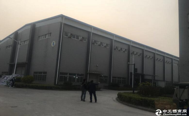 汉南大道工业园,单层钢结构1000平米厂房出租