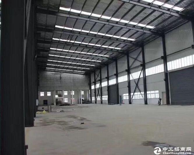 汉南幸福工业园金澜湾,标准轻钢结构厂房2000平米出租,可分