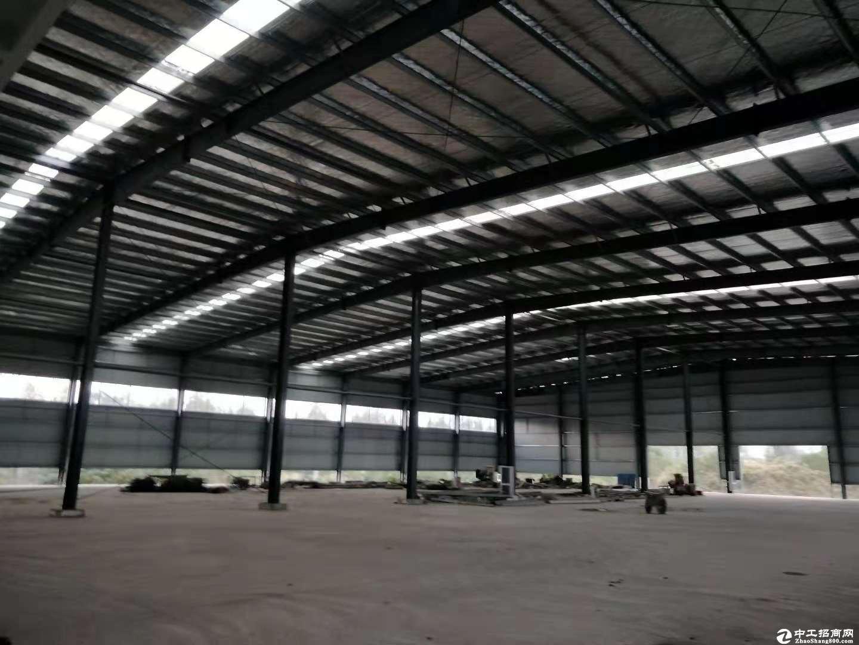 高台库汉阳沌口8000平米钢结构厂房空间宽敞出行方便