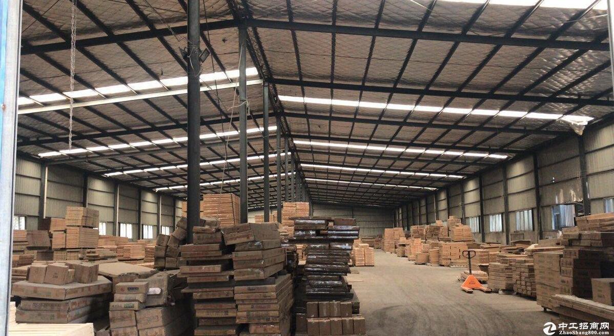 青山区建设乡五一村工业园 标准钢构厂房 3000平米