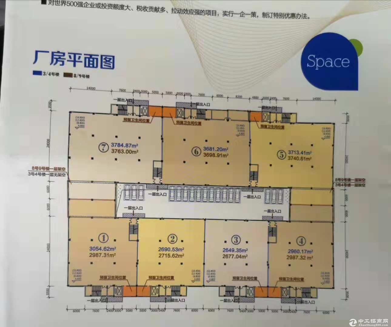 武汉阳逻国家级开发区标准厂房出售