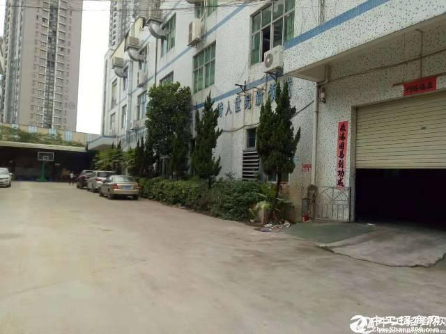 坪山区主干道附近分租一楼500平方厂房 合同5年