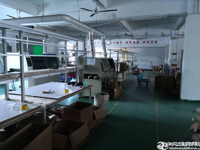 龙岗 嶂背新出标准厂房4200平宿舍2000平整租