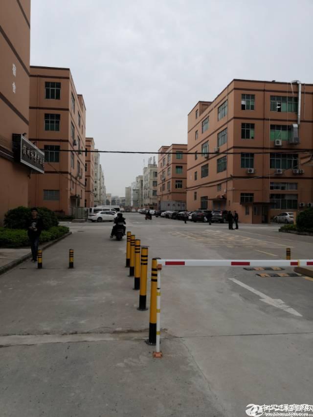 福永和平工业区楼上430㎡带装修已经隔好厂房出租