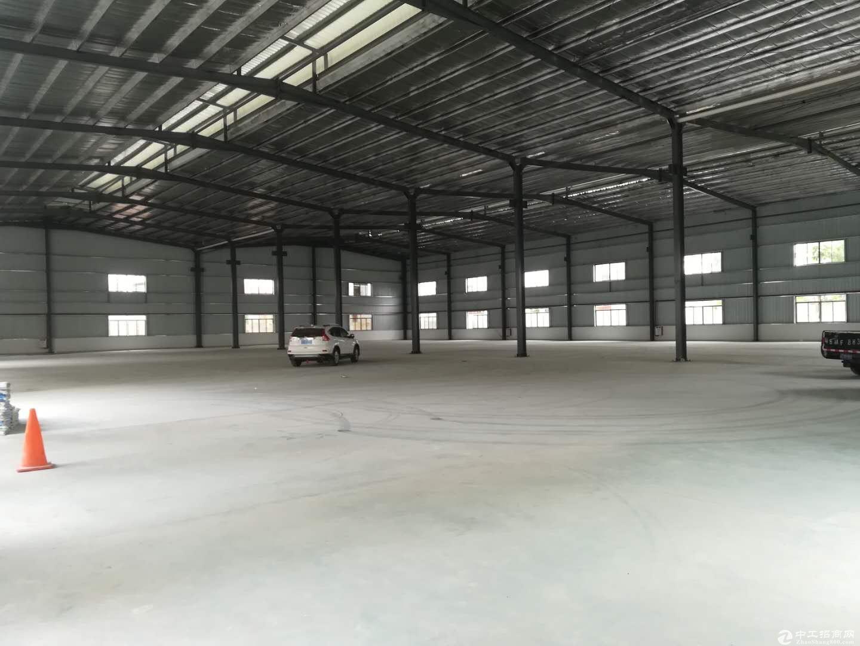 惠阳沙田高速路口独院钢钩滴水12米厂房9600平,可分租