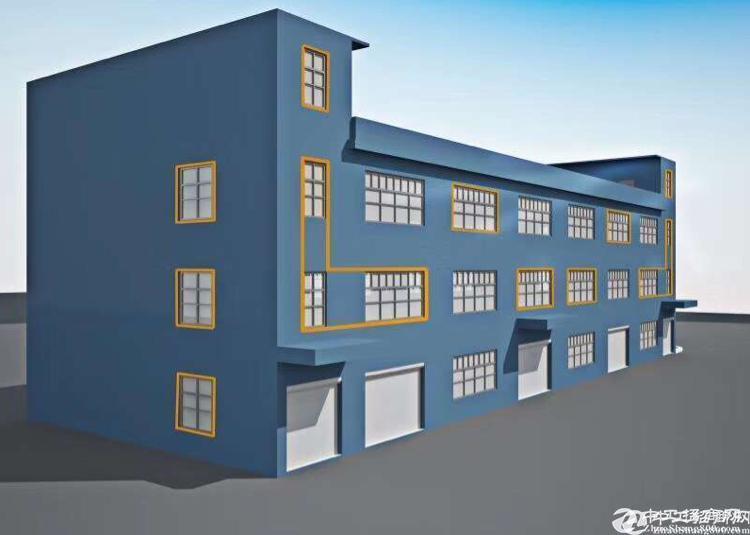 石岩汽车站新出三层楼小独院2100平出租