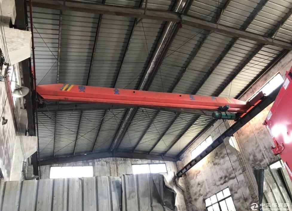 黄冈红安工业园区内,优质钢构厂房出售,停车方便-图4