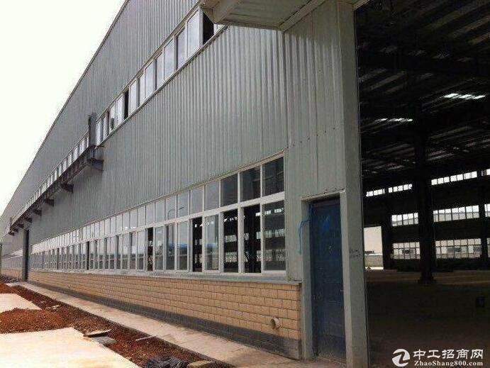 黄冈红安109国道旁,优质钢构厂房出售,带行车!