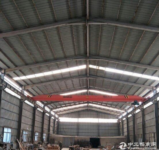 黄冈红安109国道旁,优质钢构厂房出售,带行车!-图3