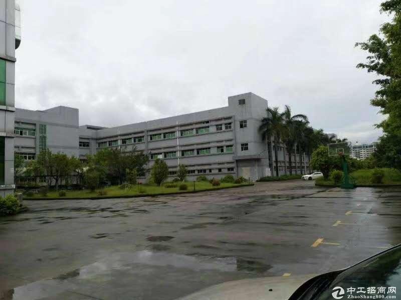 (出租) 龙岗北通道 工业园厂房一二楼2000平 一楼高6米