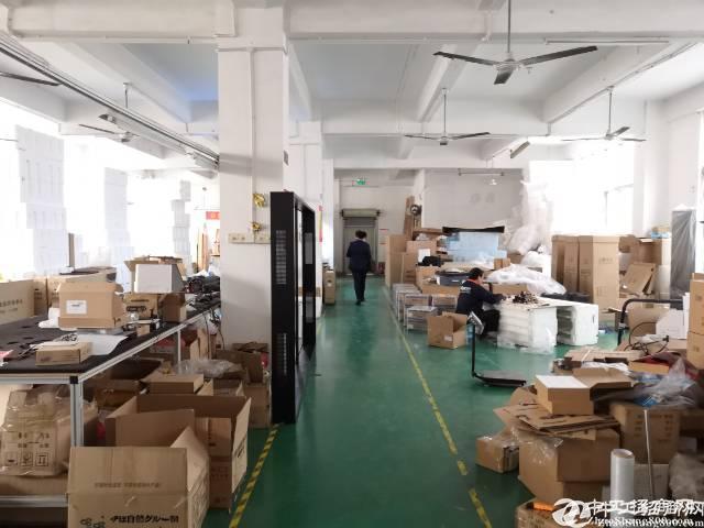 石岩南光高速口新出730平楼上厂房(带装修)