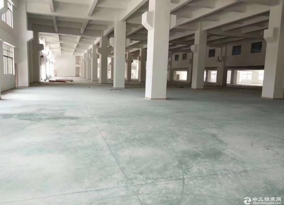 横岗永湖地铁站附近 红本厂房楼上1200平 带装修