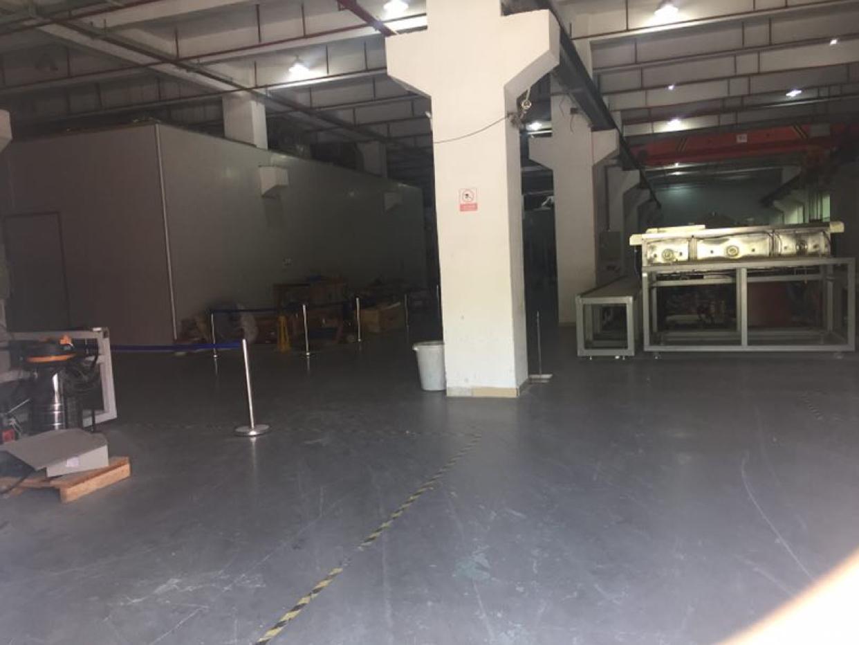 坪山坑梓莹展工业区红本厂房一楼2780平方招租