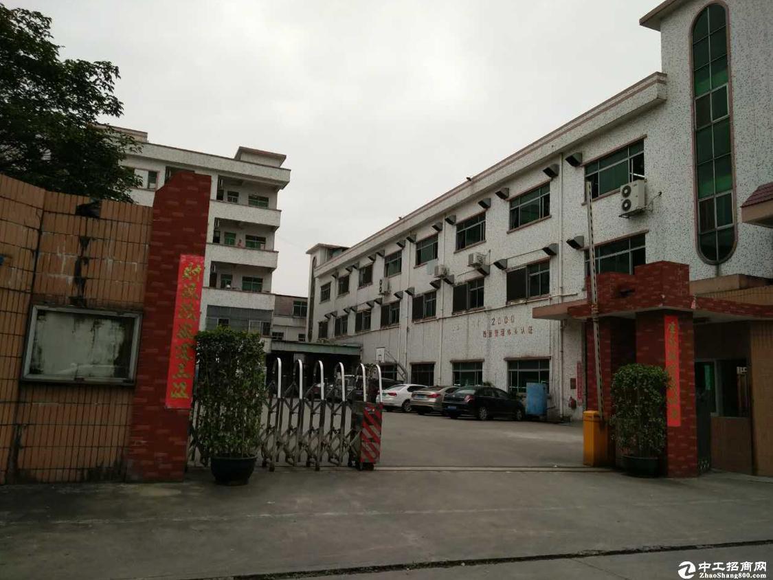 坪山六合城一楼标准厂房480平方出租可分租