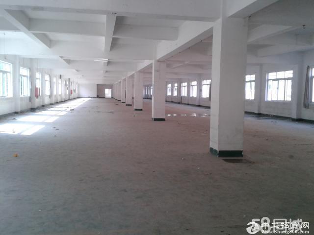 布吉海关口新出一楼1500平二楼1500平厂房出租