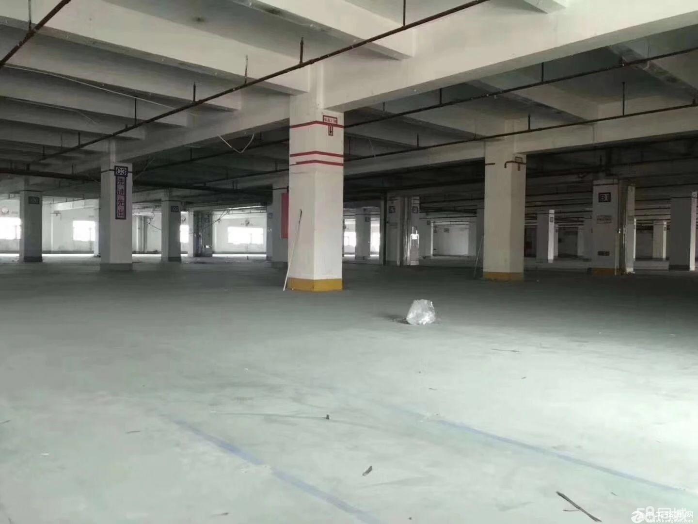 标准厂房四层5080平米每层大小面积分租