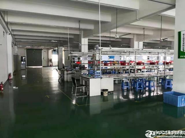 公明南光龙大高速原房东1500平装修厂房出租