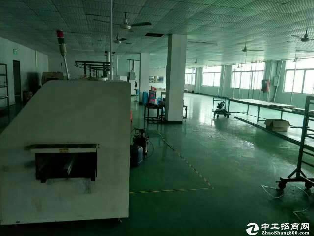 坪山 宝山工业区2楼580平方米标准厂房招租