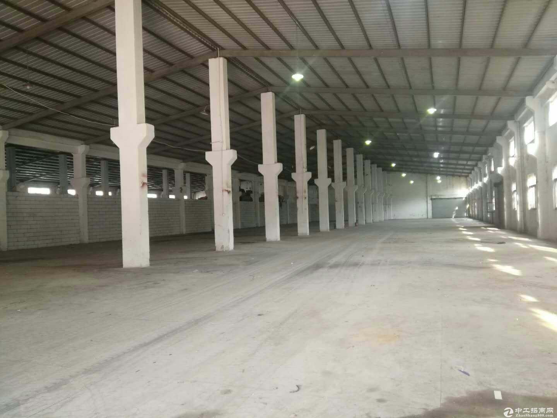 横岗新出物流仓3200平米,带卸货平台,空地大