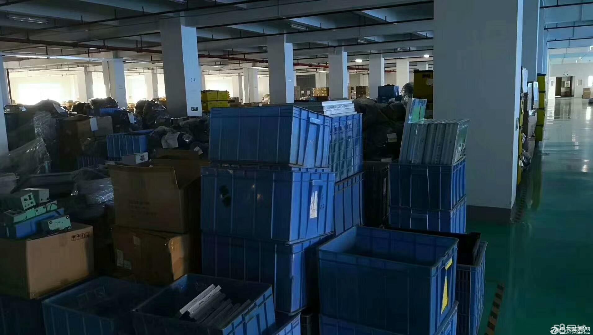 龙岗区平湖华南城附近新出楼上现成豪装办公室厂房1600平
