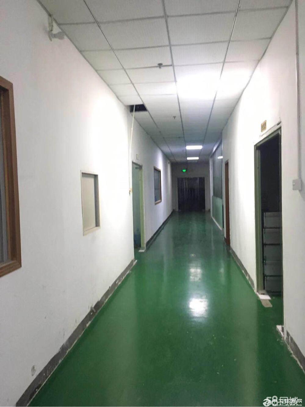 沙井南环路新出楼上780平方,带装修,无转让费。