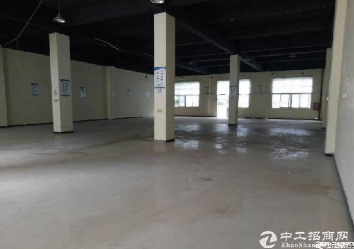 布吉南岭独院厂房 1000平方一层 共四层 大小分