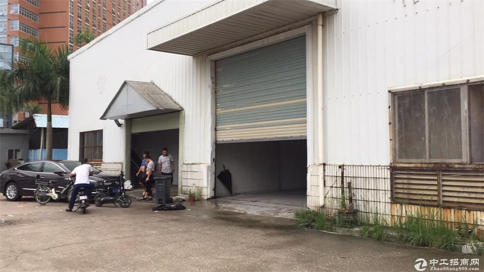 龙岗原房东钢构独院厂房12800平出租滴水10米