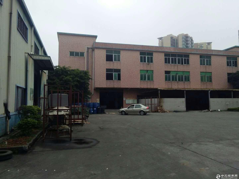 沙田镇新出标准厂房2层2200平 独院 办公室精装修