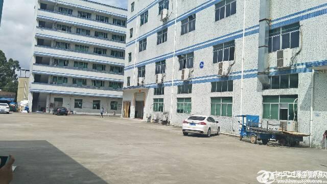 坪地富地岗红本独院厂房1-4层约6240平米出租