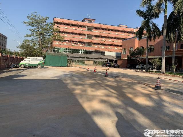 东莞占地12000建筑13500平方红本 双证国有厂房出售