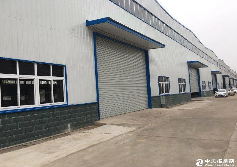 汉阳滴水十米彩钢钢构4200平生产厂房