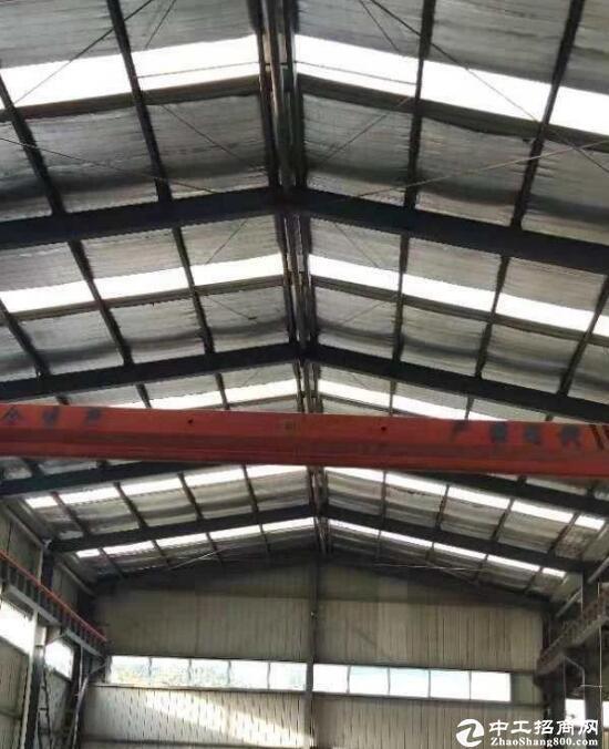 常福单层钢结构2500平厂房,园区宽敞