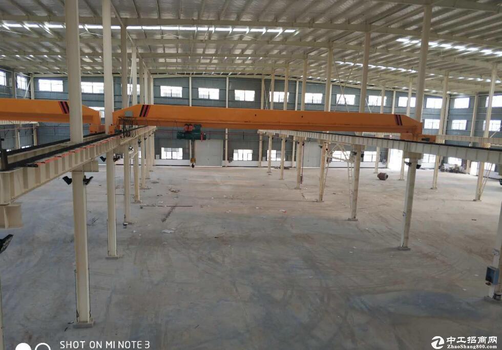 \蔡甸成熟工业园厂房招租,一栋单层钢构 7314