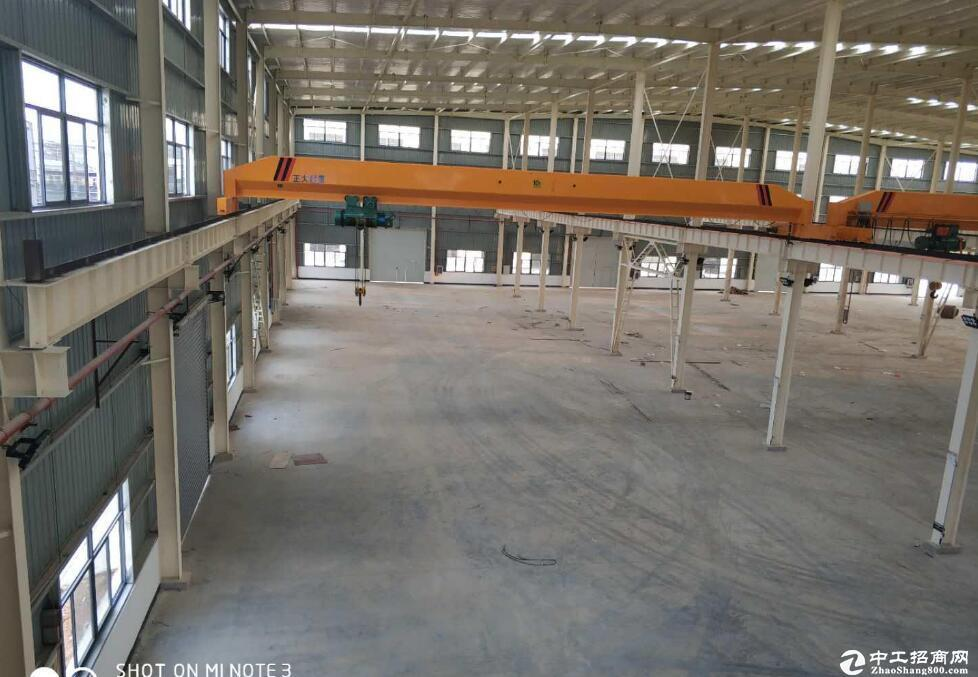蔡甸常福工业园,单层钢结构厂房出租,800KVA大电量
