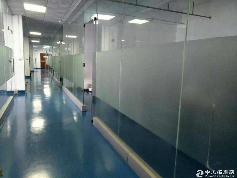 龙岗南联独门独院标准厂房11761平整租20可分租