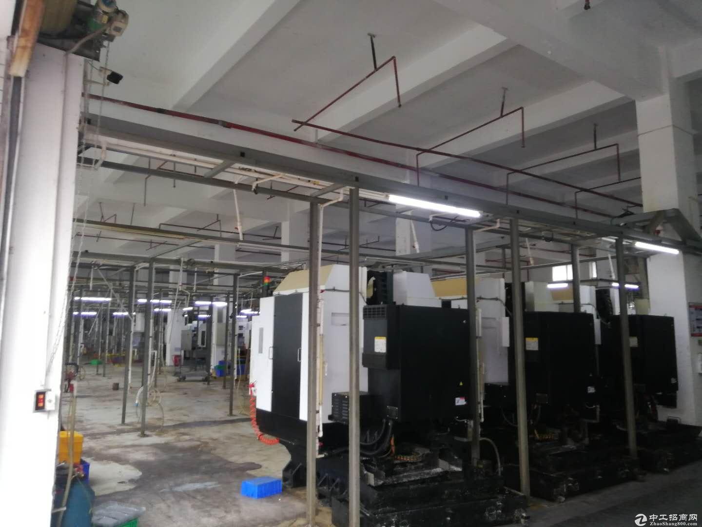坑梓无公摊1楼1000平方带装修厂房6米高 现成讲装修办公室