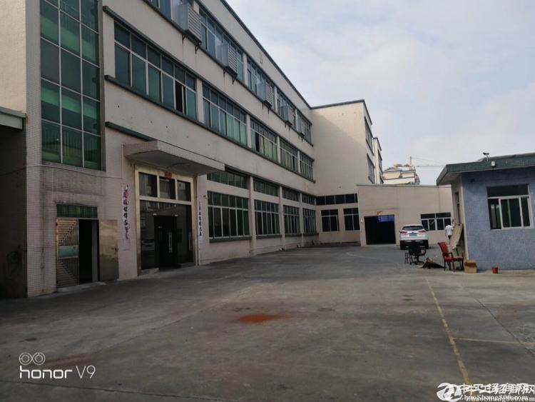 横岗原房东独院厂房5550平方米翻新出租