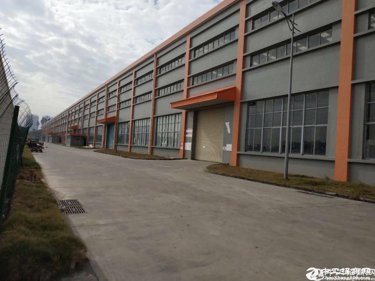 坪山坑梓重工业5万平滴水15.5米钢构厂房出租