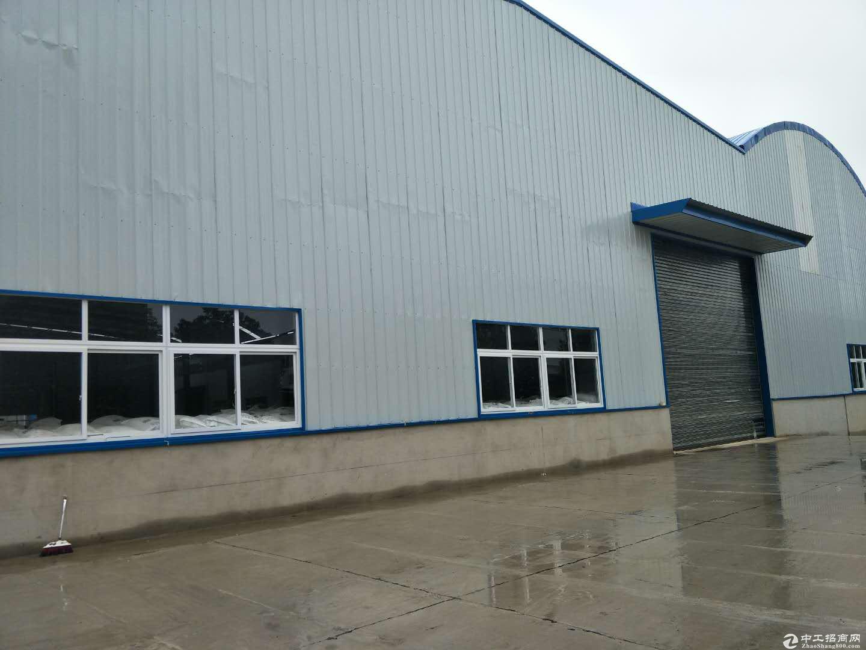 黄陂横店钢结构厂房1500平米钢结构仓库,整租14元每平含物业配套全