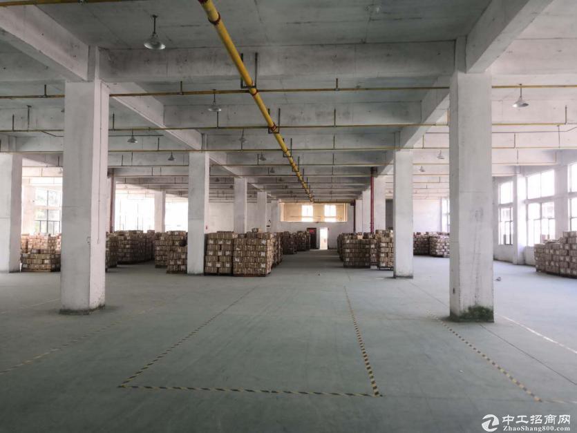 黄陂汉口北标准厂房6550平米仓库,整租11元每平含物业配套全,可分